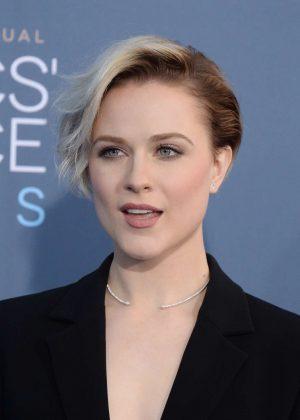 Evan Rachel Wood - 22nd Annual Critics' Choice Awards in ...  Evan Rachel Wood