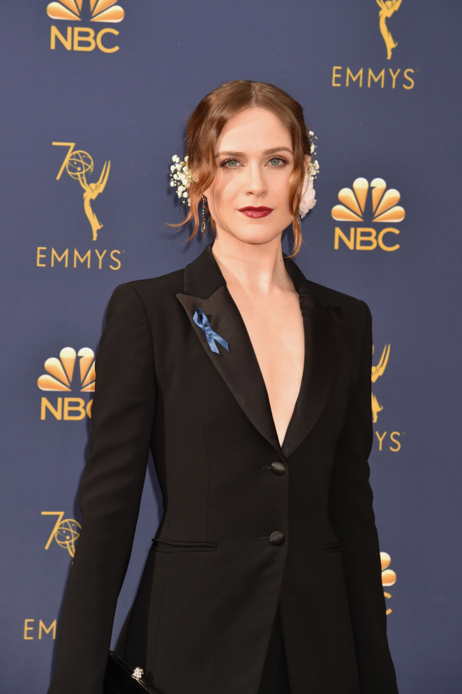 Evan Rachel Wood – 70th Primetime Emmy Awards in LA