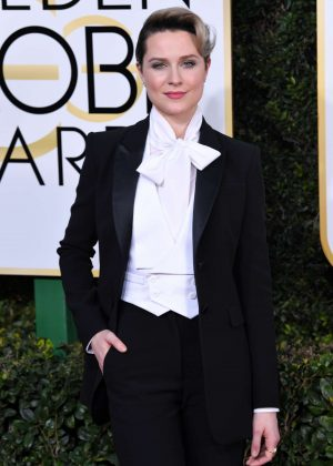 Evan Rachel Wood - 74th Annual Golden Globe Awards in Beverly Hills