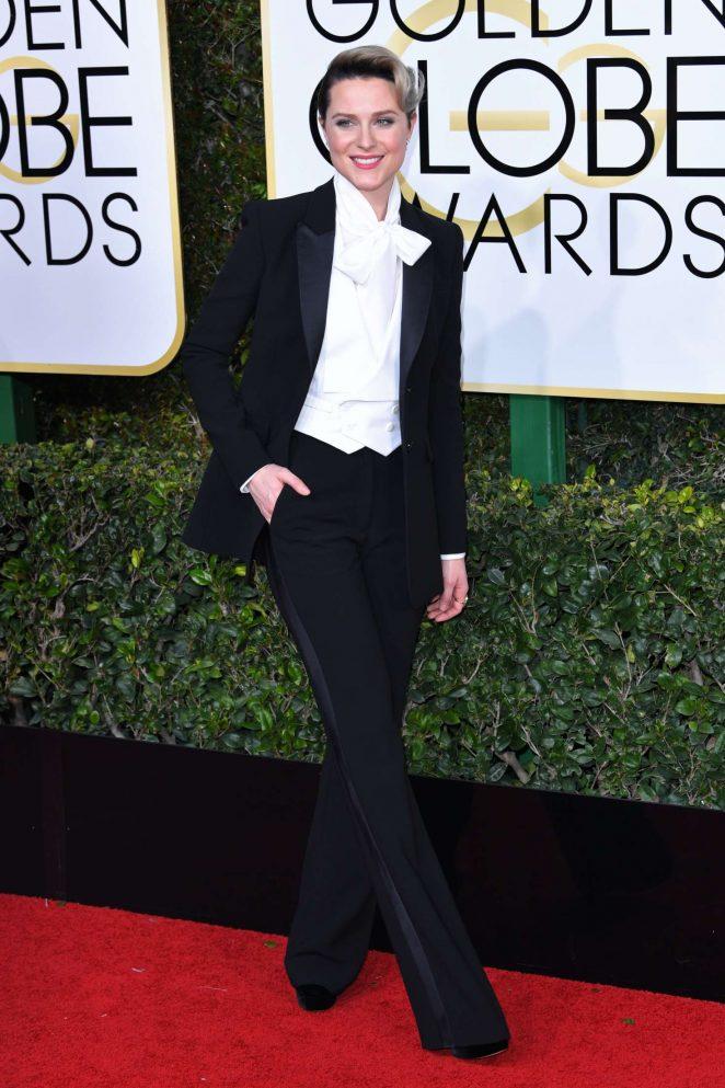 Evan Rachel Wood: 74th Annual Golden Globe Awards -02