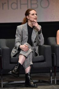 Evan Rachel Wood - At a screening panel discussion of Westworld in North Hollywood