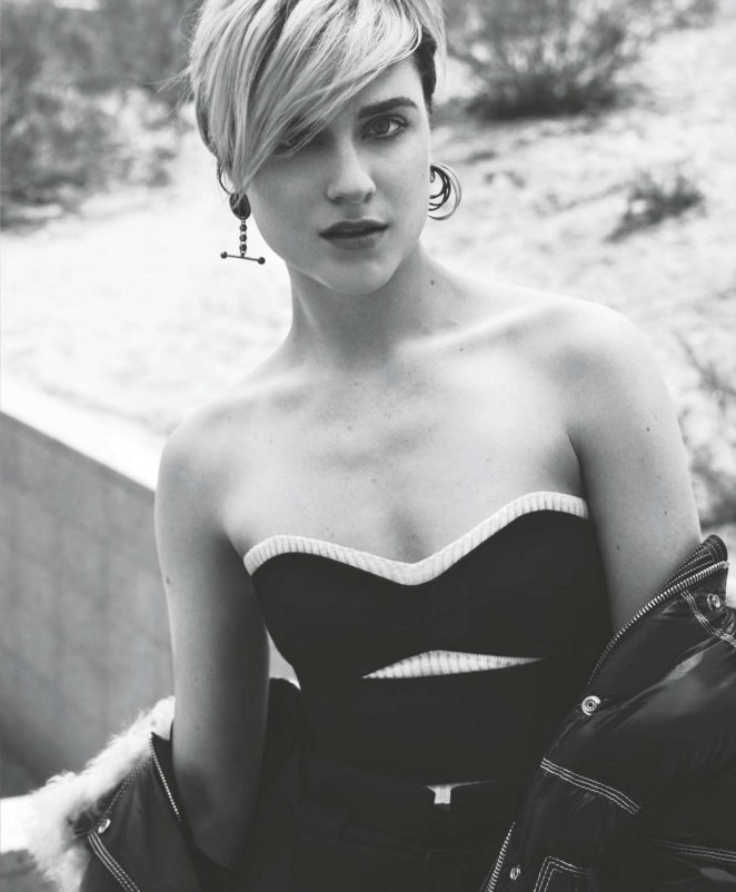 Evan Rachel Wood - InStyle Australia Magazine (November 2016)