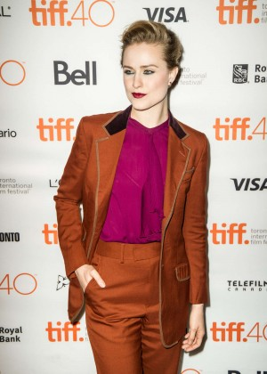 Evan Rachel Wood - 'Into the Forest' Premiere at 2015 TIFF in Toronto