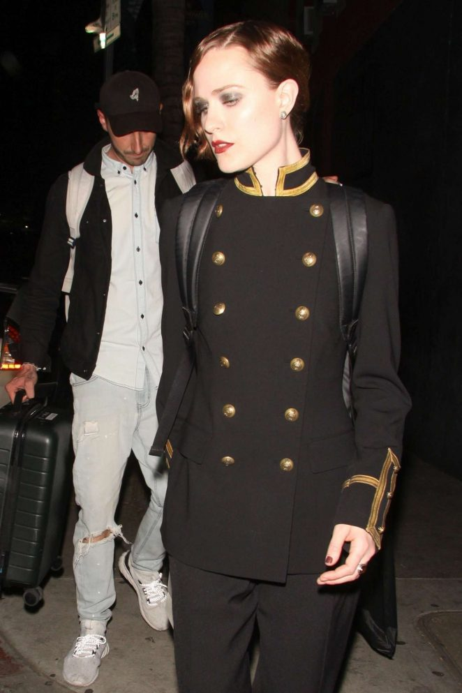 Evan Rachel Wood – Leaves the Hotel Cafe in Hollywood