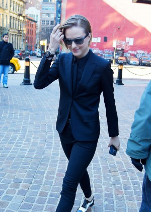 Evan Rachel Wood out in Tribeca New York