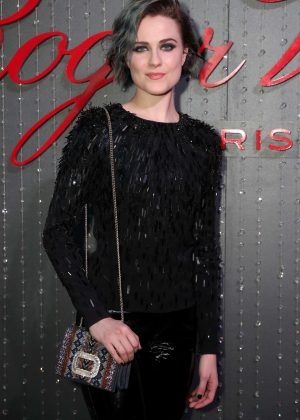 Evan Rachel Wood - Roger Vivier Event in Los Angeles
