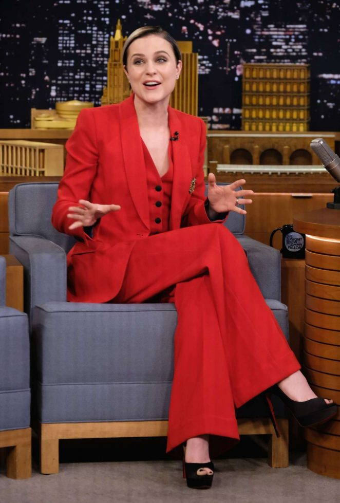 Evan Rachel Wood - 'The Tonight Show with Jimmy Fallon' in New York