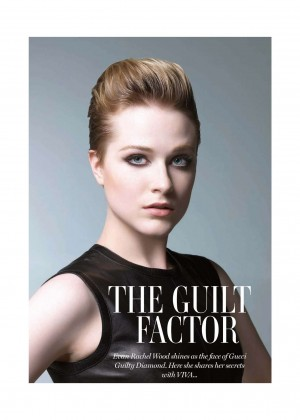 Evan Rachel Wood - VIVA Middle East Magaine (March 2015)