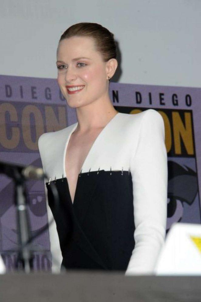Evan Rachel Wood - 'Westworld' Panel at 2017 Comic-Con in San Diego