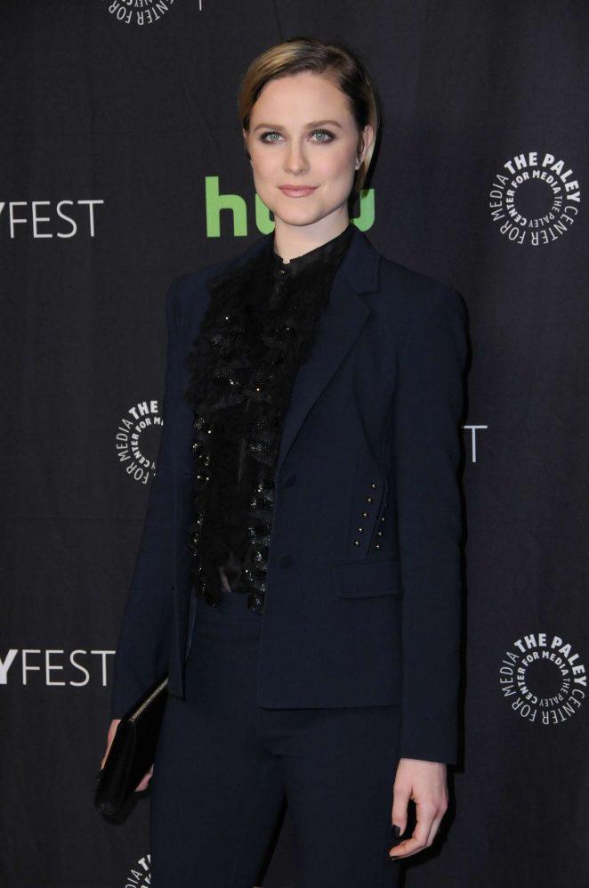Evan Rachel Wood - 'Westworld' Premiere at 2017 PaleyFest in Los Angeles