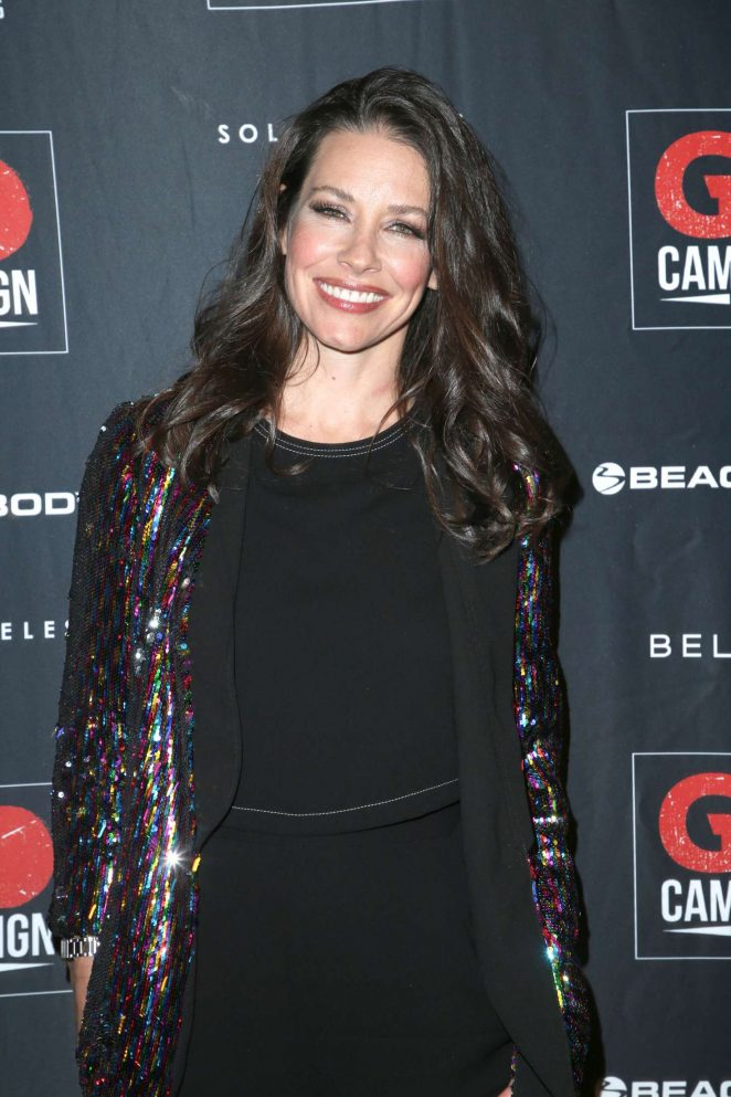 Evangeline Lilly – 2018 GO Campaign Gala in Los Angeles