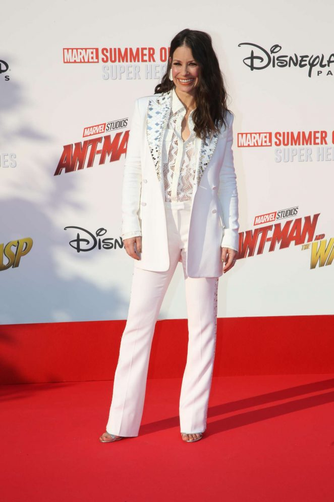 b8414c23a4043 Evangeline Lilly – 'Ant-Man and the Wasp' Premiere in Marne-la ...