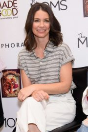 Evangeline Lilly - The Squickerwonkers book launch in NYC