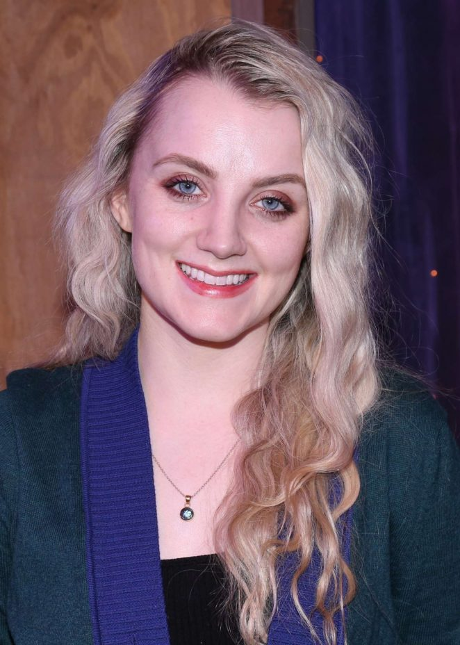 Evanna Lynch - Backstage at the Off-Broadway comedy Puffs in NYC