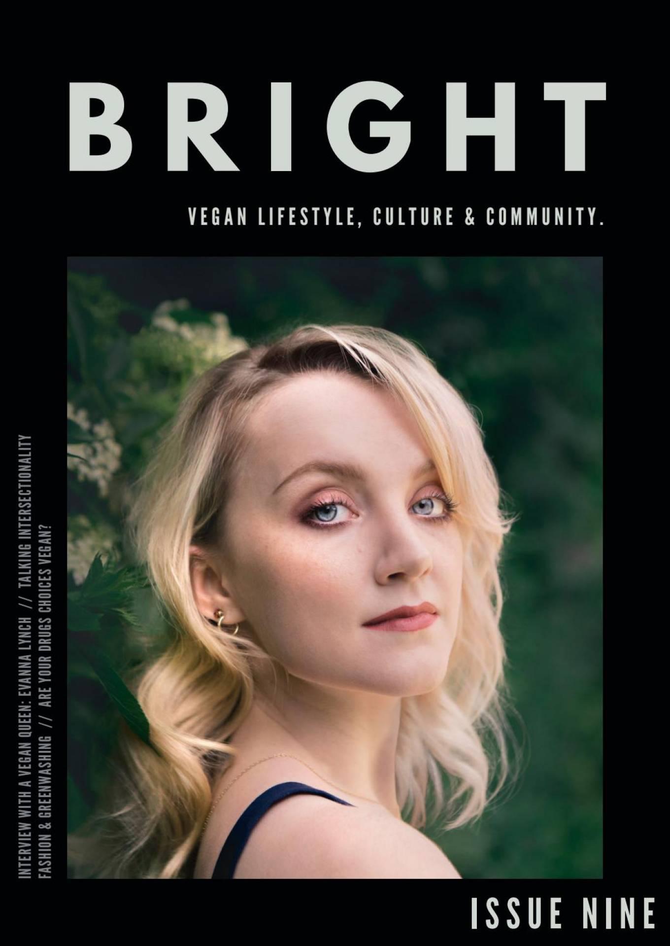 Evanna Lynch for Bright Magazine (May 2020)