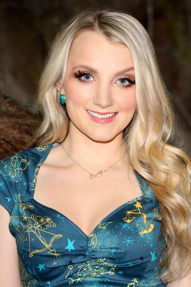 Evanna Lynch - Harry Potter The Forbidden Forest Studio Tour Launch in London