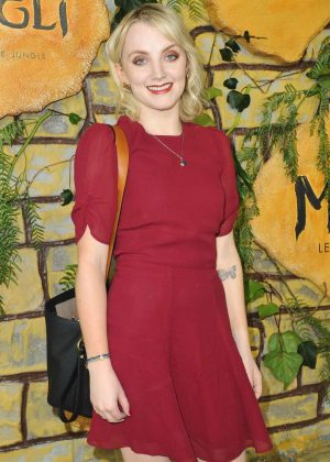 Evanna Lynch - 'Mowgli' Premiere in Los Angeles