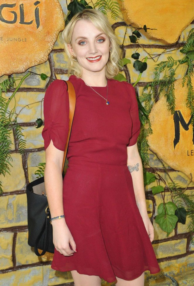 Evanna Lynch – 'Mowgli' Premiere in Los Angeles