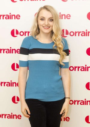 Evanna Lynch on 'Lorraine' TV Show in London