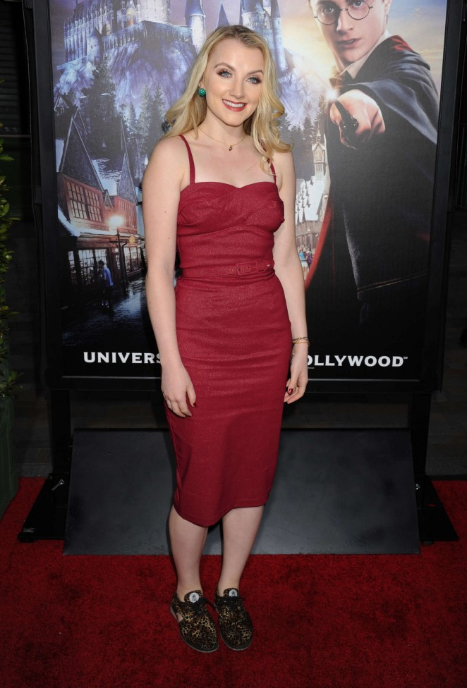 Evanna Lynch - The Wizarding World of Harry Potter VIP Press Event in Hollywood
