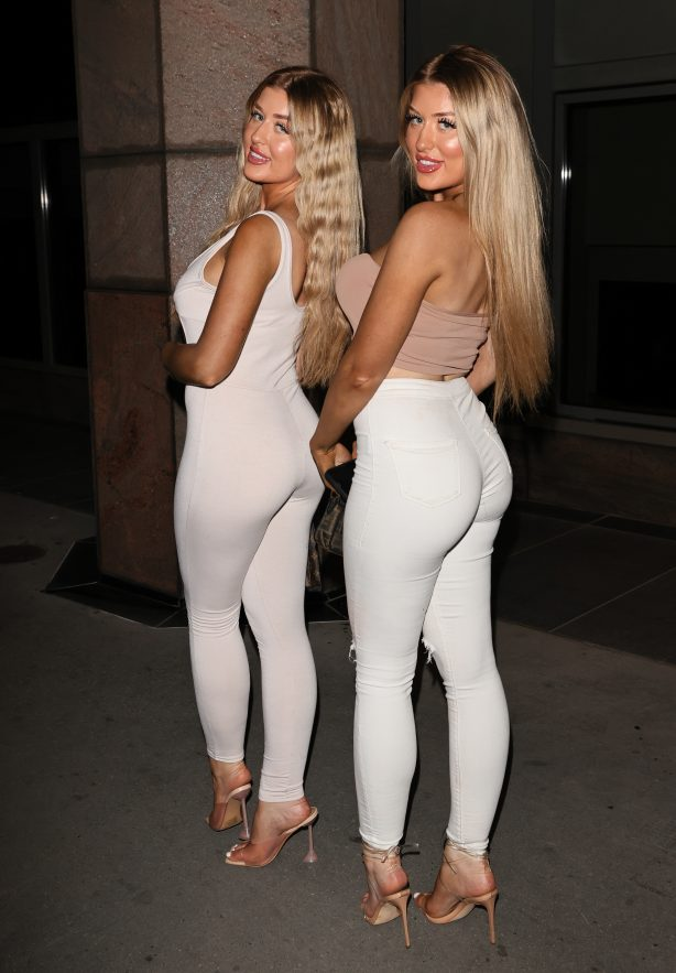 Eve and Jess Gale - Night out in London