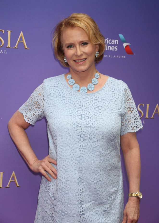 Eve Plumb - 'Anastasia' Play Opening Night in New York