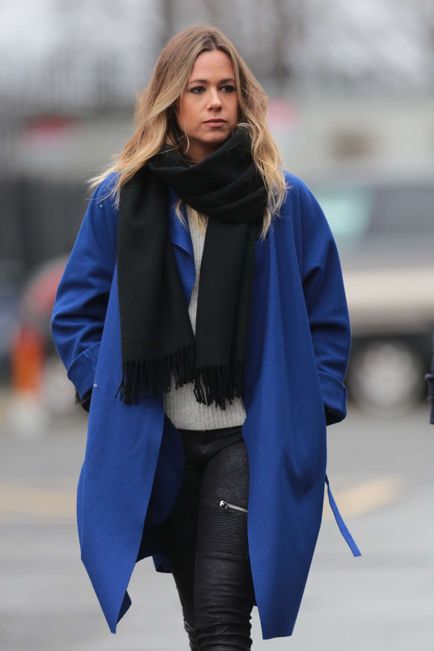 Evelina Kamph - Arrives at Old Trafford in Manchester