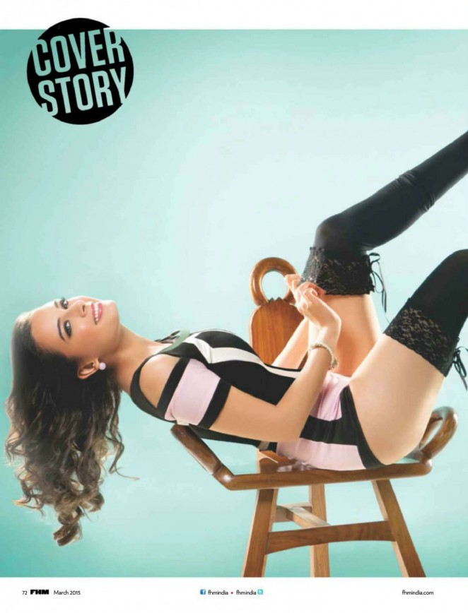 Evelyn Sharma: FHM India 2015 -04