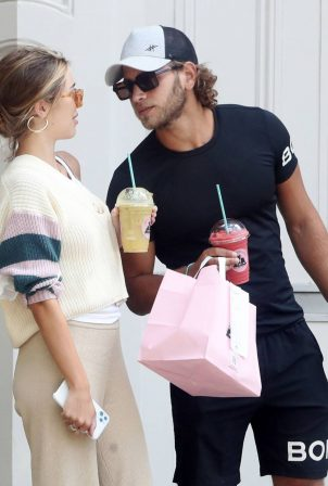 Eyal Booker and Delilah Belle Hamlin - Out in London