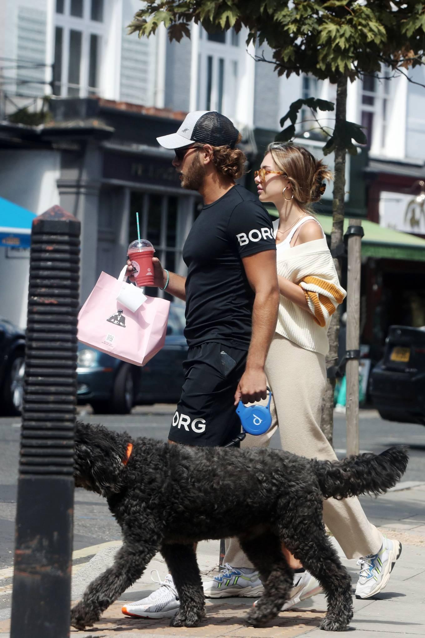 Delilah Belle Hamlin 2020 : Eyal Booker and Delilah Belle Hamlin – Out in London-07