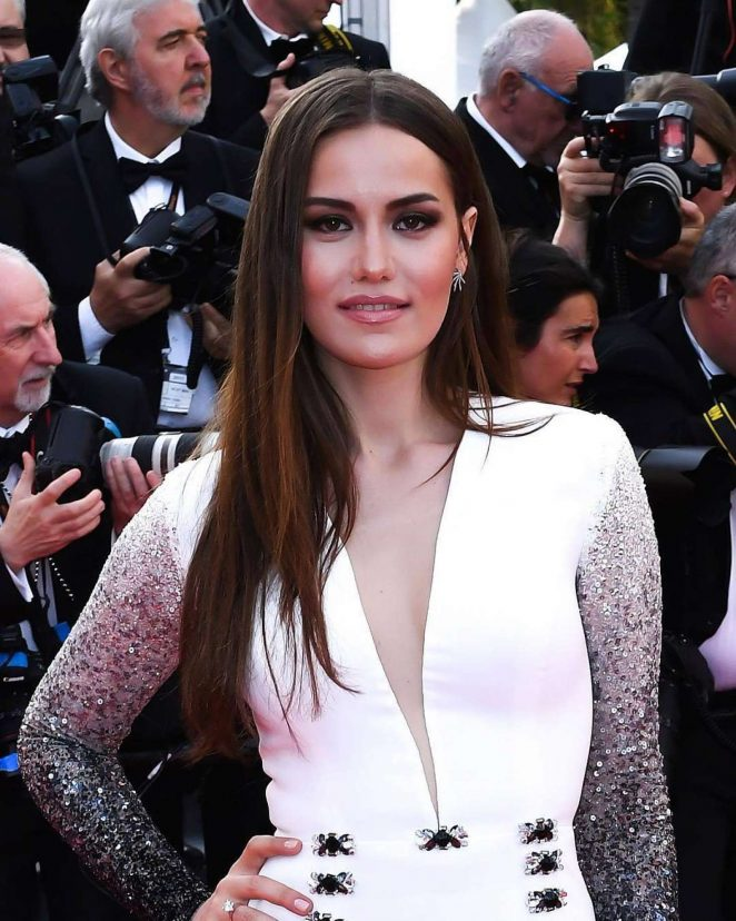 Fahriye Evcen - 'The Killing of a Sacred Deer' Premiere at 70th Cannes Film Festival