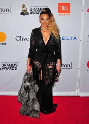 faith evans 2018 pregrammy gala and salute to industry