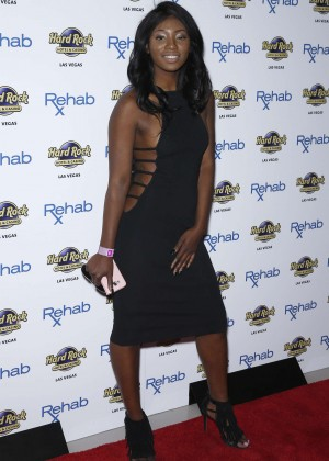 Faith Stowers - Rehab Beach Club at The Hard Rock Hotel and Casino in Las Vegas