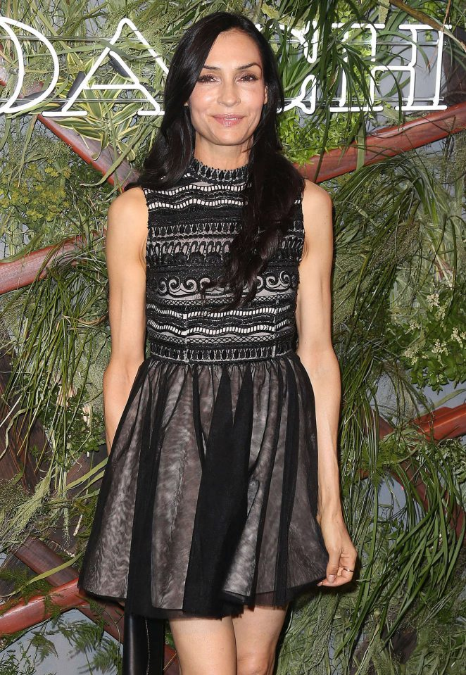 Famke Janssen - Coach and Friends of the Highline Summer Party in New York