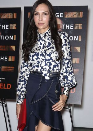 Famke Janssen - 'Notes From The Field' Special Screening in New York