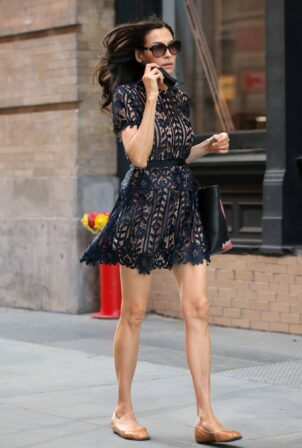 Famke Janssen - Seen out in NYC