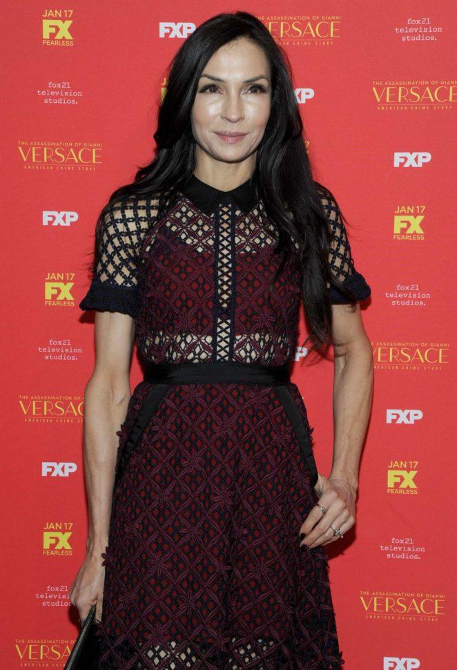 Famke Janssen - 'The Assassination of Gianni Versace' Premiere in NY