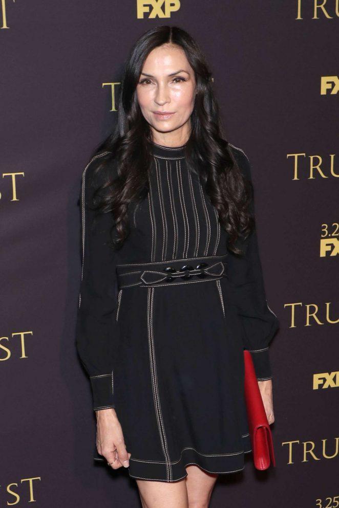 Famke Janssen - 'Trust' TV Show Screening in New York City