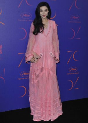 Fan Bingbing - 70th Anniversary Dinner at 2017 Cannes Film Festival