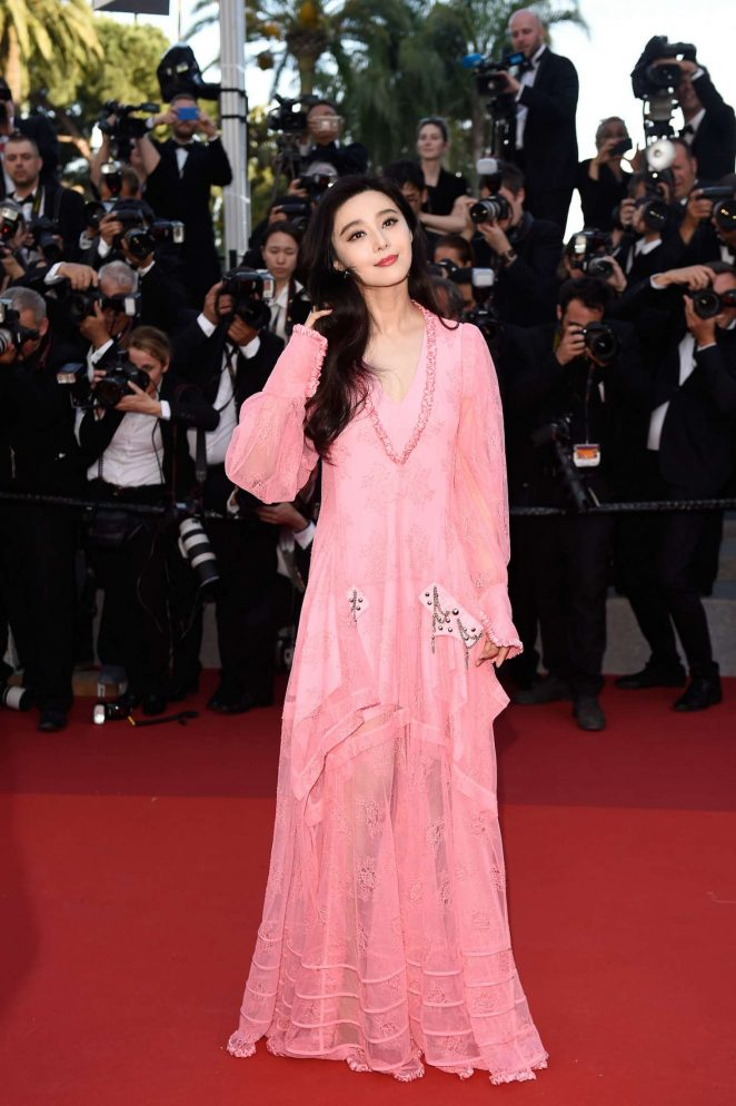 Fan Bingbing - Anniversary Soiree at 70th Cannes Film Festival