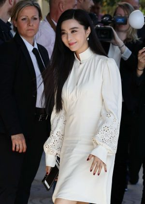Fan Bingbing - Arriving at the Martinez Hotel in Cannes