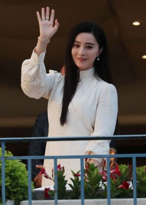 Fan Bingbing at the Martinez hotel in Cannes