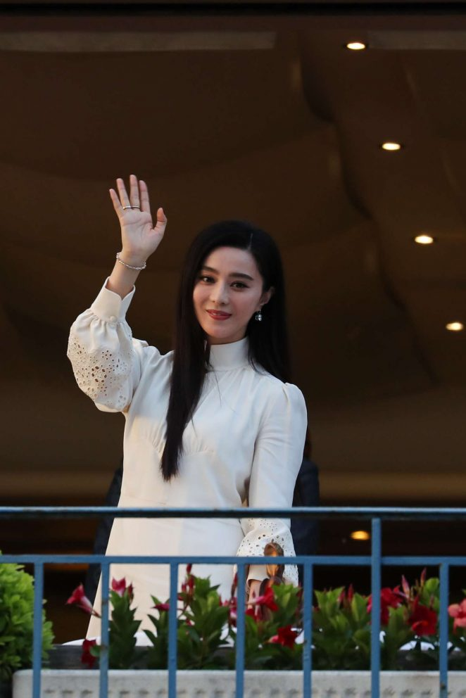 Fan Bingbing at the Martinez hotel in Cannes -16