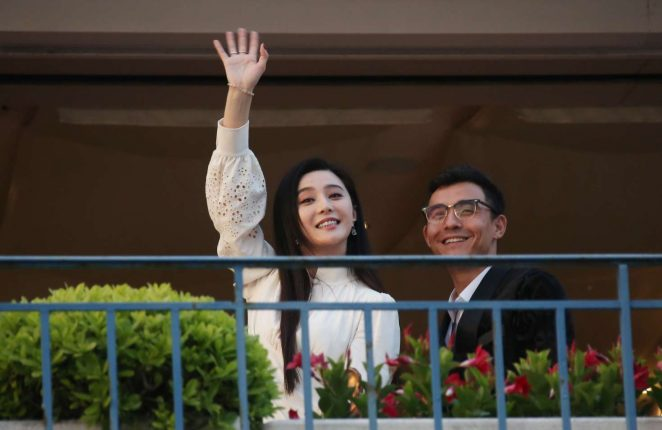Fan Bingbing at the Martinez hotel in Cannes -18