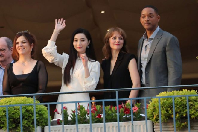 Fan Bingbing at the Martinez hotel in Cannes -20