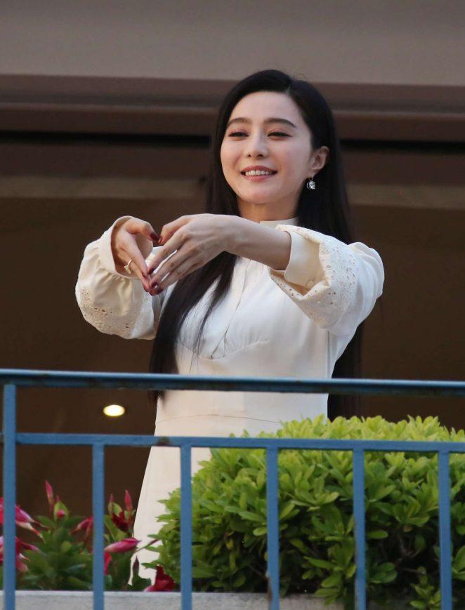 Fan Bingbing at the Martinez hotel in Cannes -24