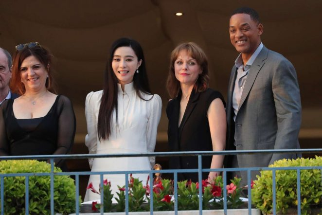 Fan Bingbing at the Martinez hotel in Cannes -26