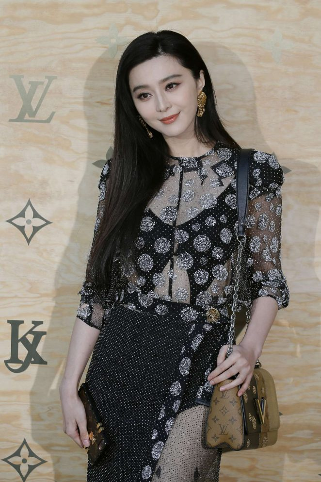 Fan Bingbing - Louis Vuitton Masters 2017 collection at The Louvre