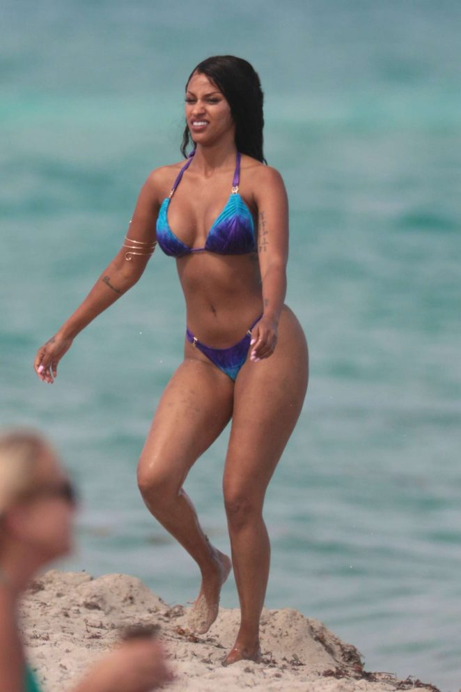 ed766d70d921e Fanny Neguesha in Blue Bikini 2017 -44 – GotCeleb