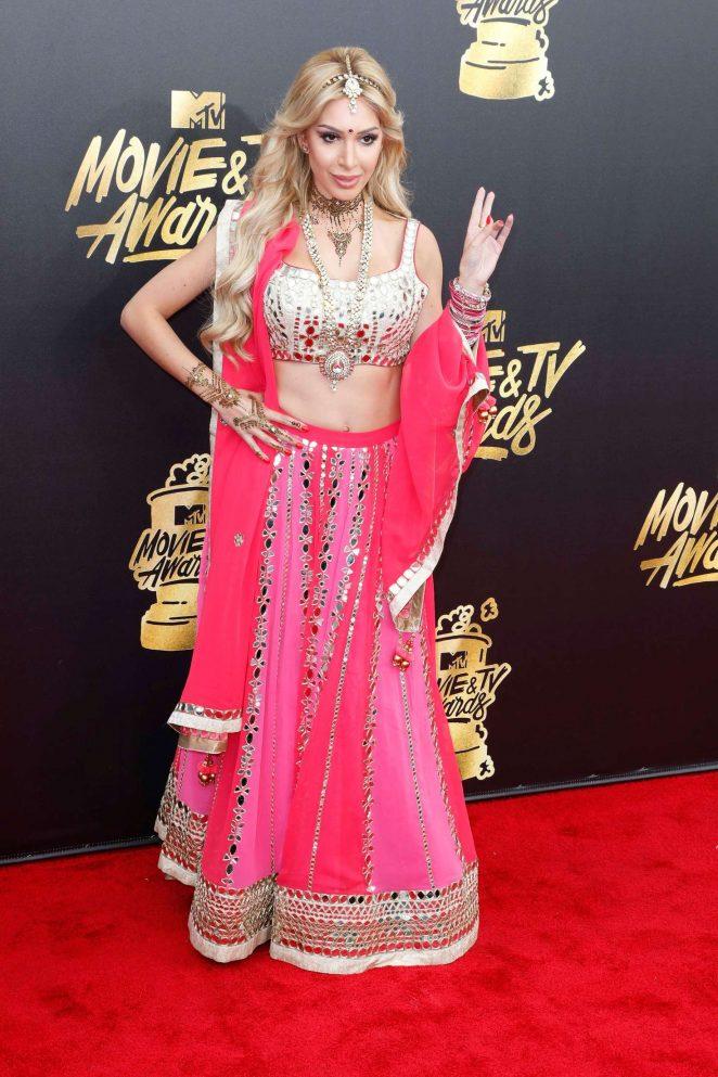Farrah Abraham – 2017 MTV Movie And TV Awards in Los Angeles